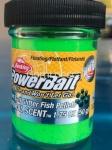 BERKLEY NATURAL SCENT CON GLITTER SPRING GREEN FISH PELLET